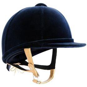 Charles Owen Showjumper XP Riding Hat Childs Sizes 49-55cm Navy