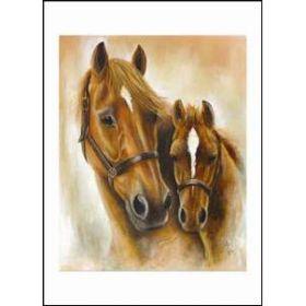 Diane Hennchen nut Mare & Foal DC87