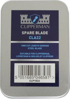 Clipperman CLA22 German Steel Blade Set 1mm