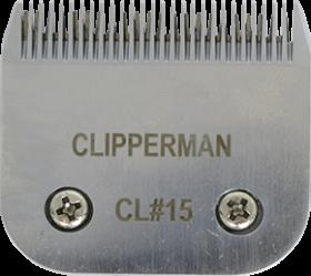Clipperman A5 #15 German Steel Blade Set