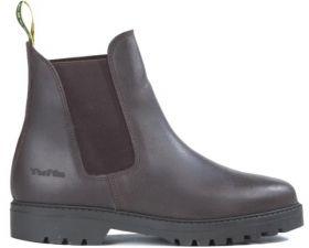 Tuffa Clydesdale Fleece Yard Boots Brown