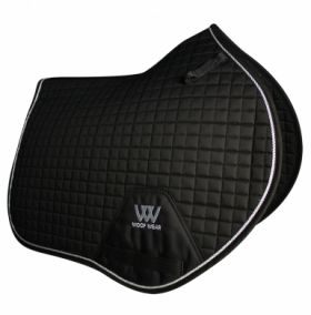 Woof Wear Close Contact Saddle Cloth Colour Fusion - WS0003 Black