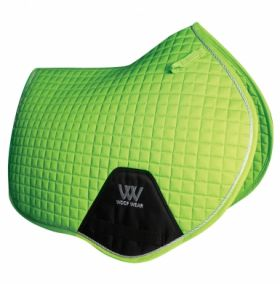 Woof Wear Close Contact Saddle Cloth Colour Fusion - WS0003 Lime Green