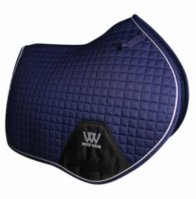 Woof Wear Close Contact Saddle Cloth Colour Fusion - WS0003 Navy