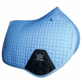 Woof Wear Close Contact Saddle Cloth Colour Fusion - WS0003 Powder Blue
