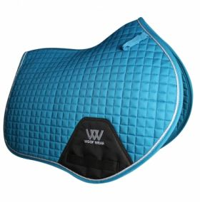 Woof Wear Close Contact Saddle Cloth Colour Fusion - WS0003 Turquoise