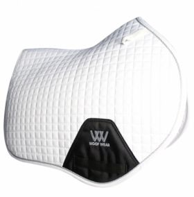 Woof Wear Close Contact Saddle Cloth Colour Fusion - WS0003 White