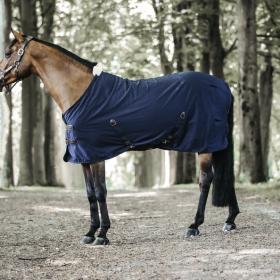 Kentucky Horsewear Cotton Sheet - Navy
