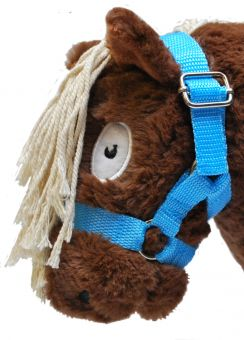 Crafty Ponies Headcollar and Instruction Booklet Light Blue