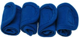 Crafty Ponies leg wraps and instruction booklet Royal Blue