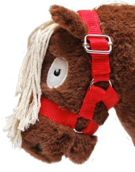 Crafty Ponies Headcollar and Instruction Booklet Red