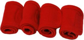 Crafty Ponies leg wraps and instruction booklet Red