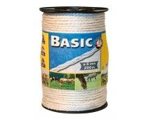 Corral Basic Fencing Rope c/w St Steel Wires 200 Metres