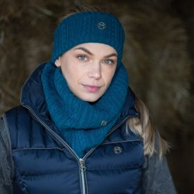 Equetech Cable Twist Knit Snood - Dragonfly