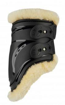 LeMieux Comfort Impact Responsive Fetlock Boots -Medium-Black Clearance