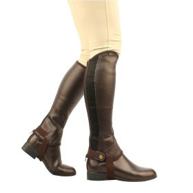 Saxon Equileather Half Chaps - Adults