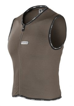 Dainese Alter-Real Waistcoat Back Protector Ladies  Chocolate