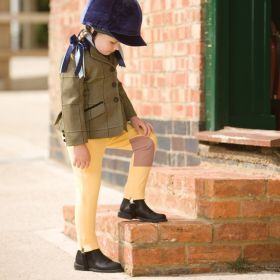 Equetech Dinky Deluxe Jodhpurs for Tiny Tots Canary