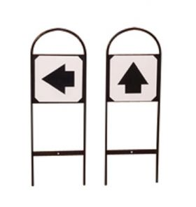 Stubbs Tread In Markers Direction Sign S631 2 Pack - Special Order Item