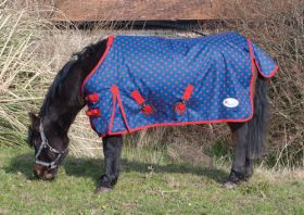 Rhinegold Foal /Tiny Pony Dottie Torrent No Fill Turnout Rug - Rhinegold