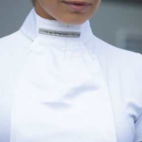 Equetech Thea Deluxe Ready-Tied Stock - White