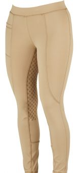 Dublin Performance Cool-It Gel Riding Tights Beige - Summer Sale