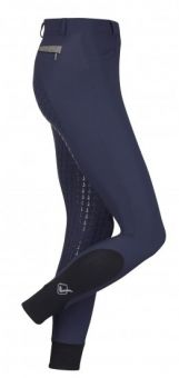 LeMieux Dynamique Full Seat Breech - Ice Grey - LeMieux