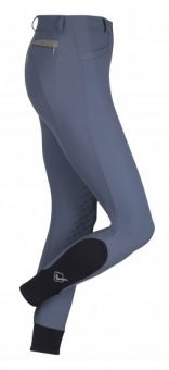 LeMieux Dynamique Knee Grip Breech - Ice Grey