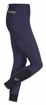 LeMieux Dynamique Knee Grip Breech - Navy
