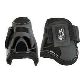 Elico Fetlock Boots with Memory Foam Lining Black