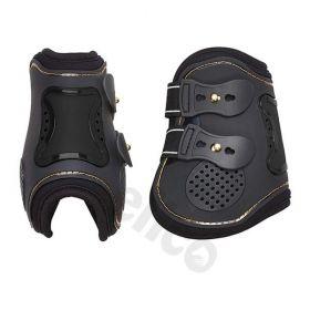 Elico Ceramic Memory Foam Tendon Boots Black