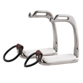Elico Stainless Steel Peacock Safety Stirrups