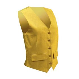 Equetech Jacquard Classic Waistcoat Canary