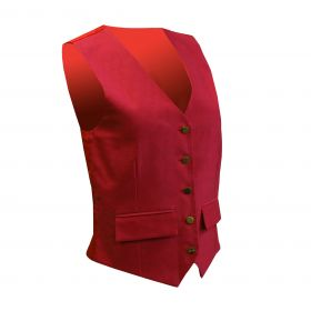 Equetech Jacquard Classic Waistcoat Red