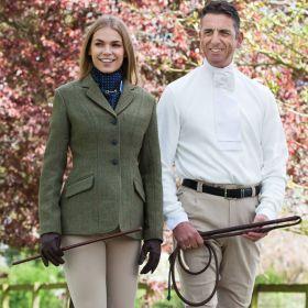 Equetech Claydon Tweed Riding Jacket Ladies