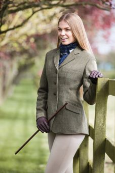 Equetech Claydon Tweed Riding Jacket Ladies