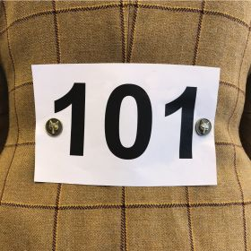 Equetech Foxhead Magnetic Competition Number Holders Gold