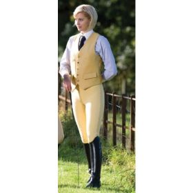 Equetech Grip Seat Breeches - 26 - Canary Clearance - Equetech