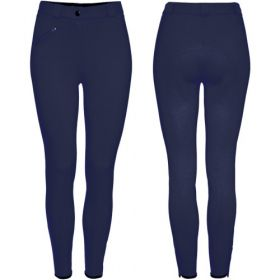 Equetech Grip Seat Breeches - 32 - Navy Clearance - Equetech