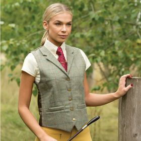 Equetech Partidge Lapel Tweed Waistcoat