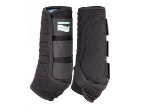 Equilibrium Stretch and Flex Training Leg Wraps Black