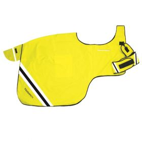 Equisafety Winter Wrap Around Exercise Rug Fluorescent Yellow