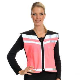 Equisafety EN1150 Air Waistcoat Plain  Fluorescent Pink