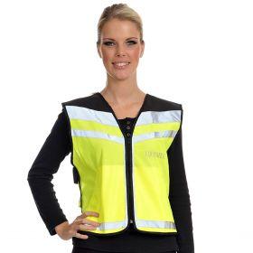 Equisafety EN1150 Air Waistcoat Plain  Fluorescent Yellow