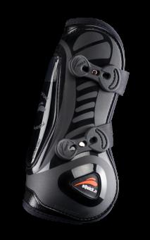 eQuick eShock Front Legend Tendon Boots Black - Equsani eQuick