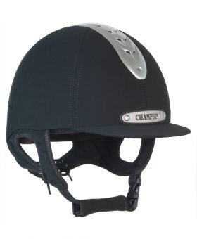 Champion Evolution Riding Hat Adults Size 56-63cm Black