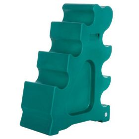 Classic Showjumps Pro-Jump Sloping Block - Forest Green