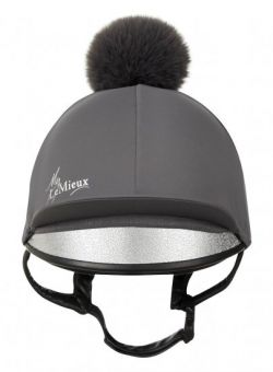 LeMieux Young Rider Hat Silk - Slate