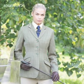 Equetech Ladies Foxbury Tweed Riding Jacket