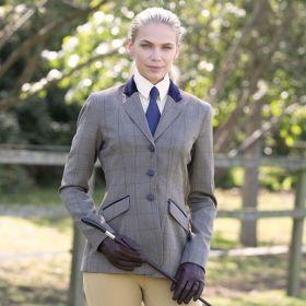 Equetech Foxbury Deluxe Tweed Ladies Riding Jacket